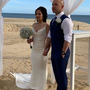 Nicole Miller Hampton size 0 wedding dress
